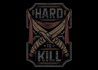Hard to kill graphic t shirt