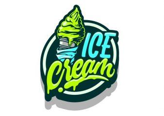 Ice Cream t shirt design for sale
