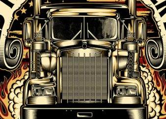 old truck never die t shirt design online