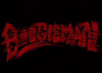 boogieman torn Graphic t-shirt design