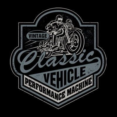 CLASSIC VEHICLE t shirt vector file