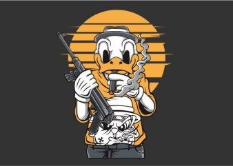 The Duck Mafia t shirt designs for sale