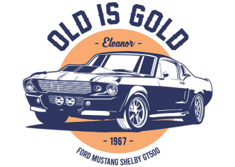 OLD is GOLD t shirt design online