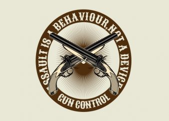 The Gun Control t shirt designs for sale