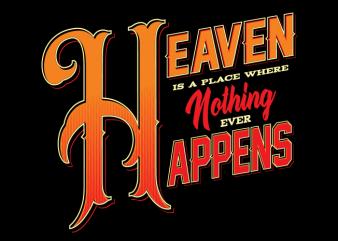 Heaven graphic t shirt
