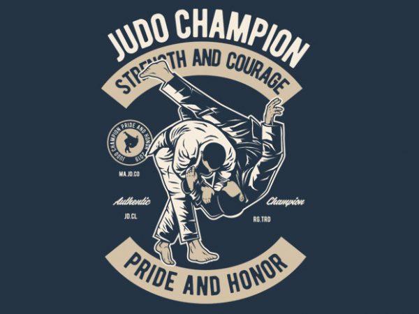 Judo vector clipart