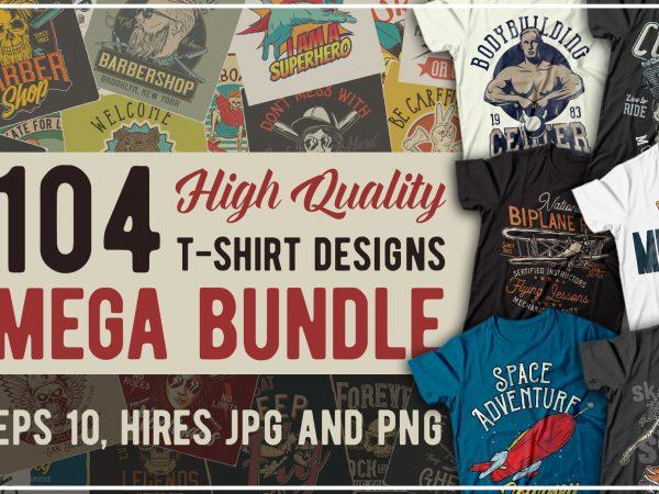 T-shirts bundle 5. vector t-shirt designs