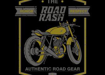 ROAD RASH t shirt design online