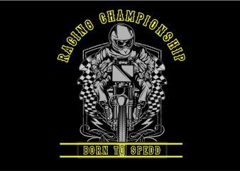 Racing Champhoinship t shirt design online