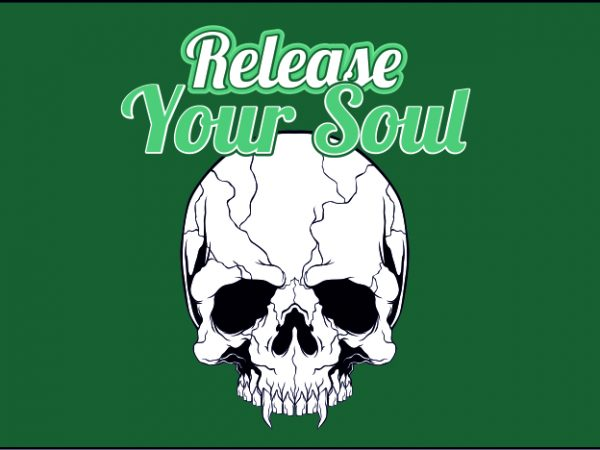 Release Your Soul t shirt design online