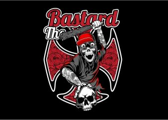 The Bastard t shirt designs for sale