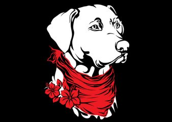 Dogy t shirt vector illustration