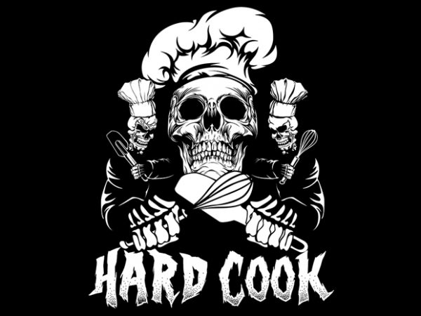 Hard Cook graphic t shirt