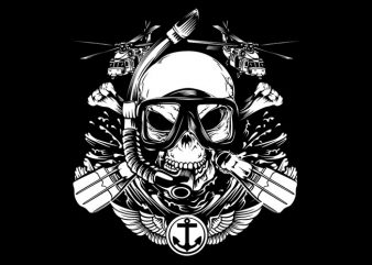 I'am Marine t shirt vector