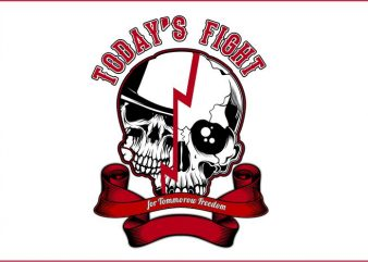 Today's Fight For Tommorow Freedom t shirt designs for sale