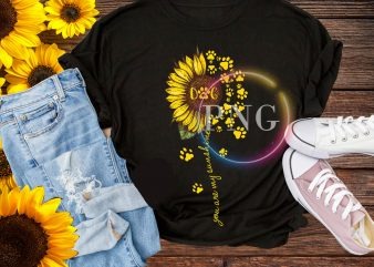 Sunflower Dogmom – Dog you are my sunshine T shirt National Dog day