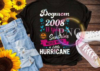 Dogmom Design PNG – Dogmom of Being Sunshine mixed with a little Huricane