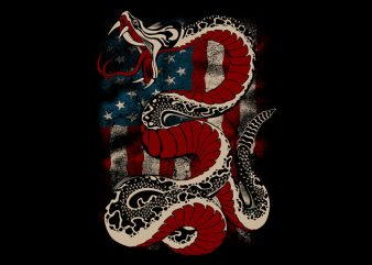 Don't tread on me t shirt vector illustration