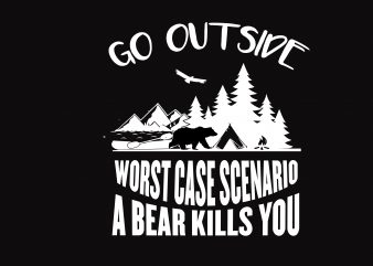 Go Outside t shirt template