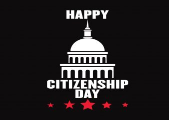 Happy Citizenship Day graphic t shirt