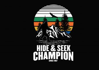 Hide & Seek graphic t shirt