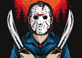 Jason t shirt template