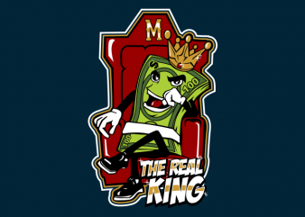 the real king t shirt designs for sale