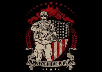 Us Army t shirt vector graphic