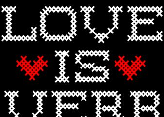 Love is a verb t shirt vector graphic
