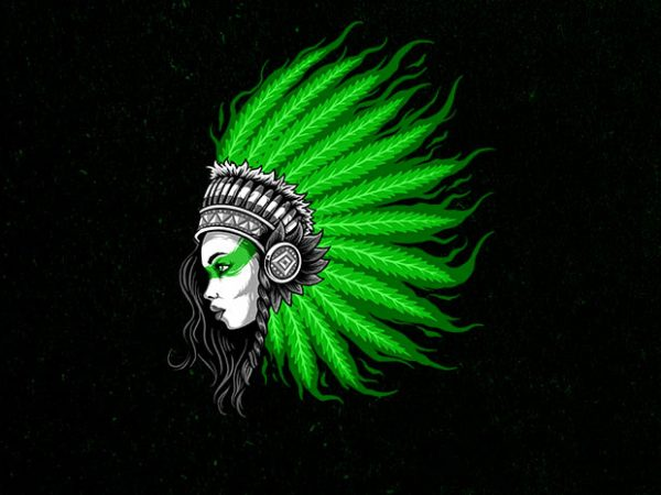 hair of fire Graphic t-shirt design