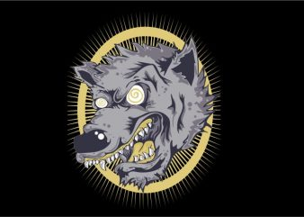 Mad Wolf t shirt designs for sale
