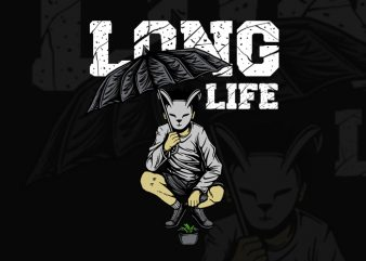 LONG LIFE T-SHIRT DESIGN