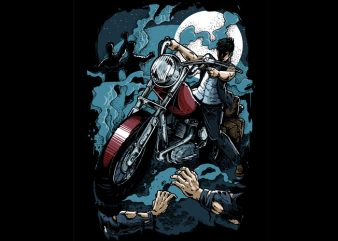 Hunter Colored Version graphic t shirt