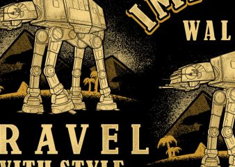 Imperial Walker t shirt design for sale