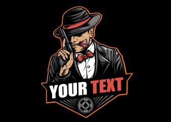 Poker Mafia T-shirt Design