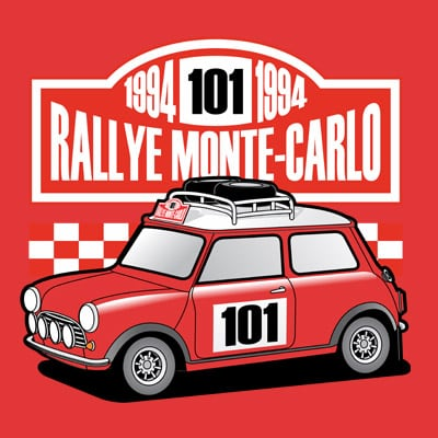 RALLY t shirt design online
