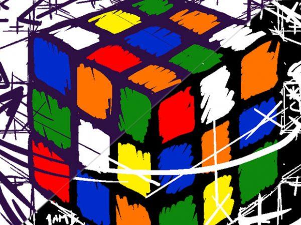 Rubikcube's Math t shirt design online