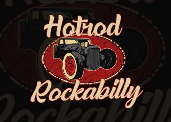 HOTRODS T-SHIRT DESIGN