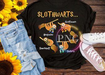 Harry Slothwarts Hogwarts Halloween – Sloth Halloween T-Shirt