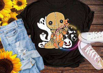 Trick r Treat Funny Cute Sam Halloween – scarecrow Halloween 2019 Costume T-Shirt
