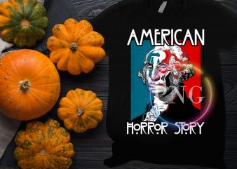 American Horror Story Funny Halloween costume t shirt design