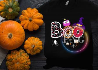 Boo Funny costume Halloween Design T shirt