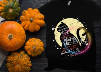 Cat Moon Halloween Costume T shirt design