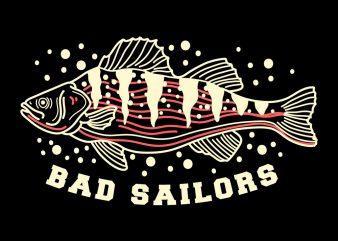 fish tshirt design