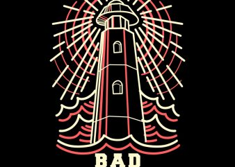 bad sailors tshirt design