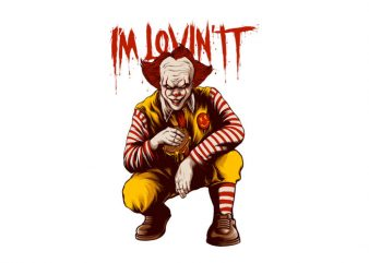 I'm Lovin IT t shirt design for sale