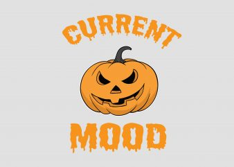 Current Mood t shirt vector file
