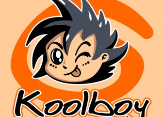 KOOLBOY t shirt vector art