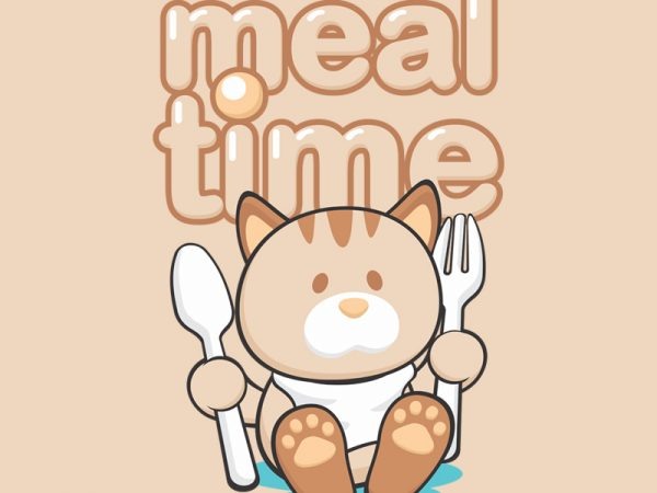 MEAL TIME t shirt designs for sale