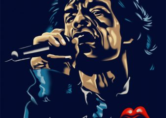 MICK JAGGER t shirt designs for sale
